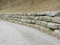 Armour wall along roadway_4940
